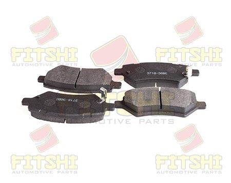 Колодки тормозные передние Fitshi J42-3501080