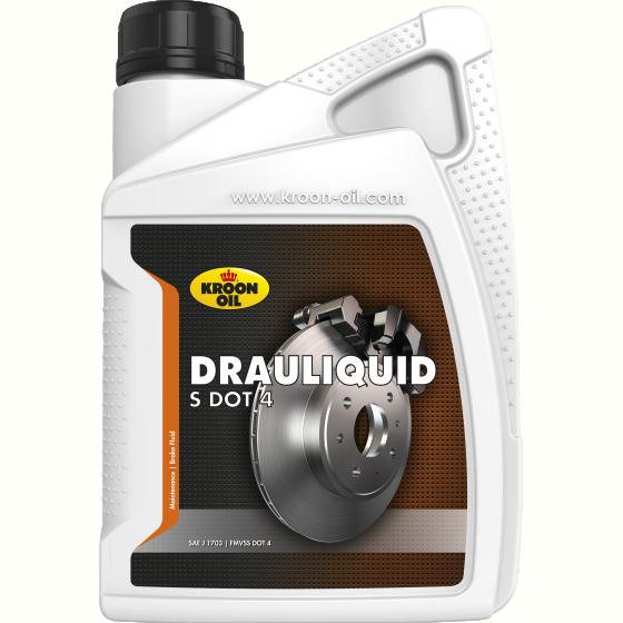 Тормозная жидкость Drauliquid-S DOT 4 1L KL 04206