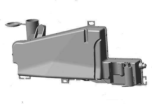 Бачок омывателя (с моторчиком) S21-5207110